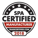 Spa Certified Manufacturer 2018